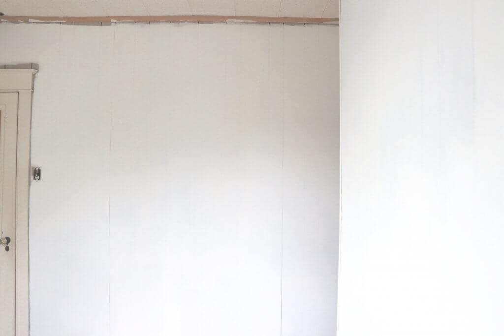 DIY Kids Room Makeover after painting the paneling